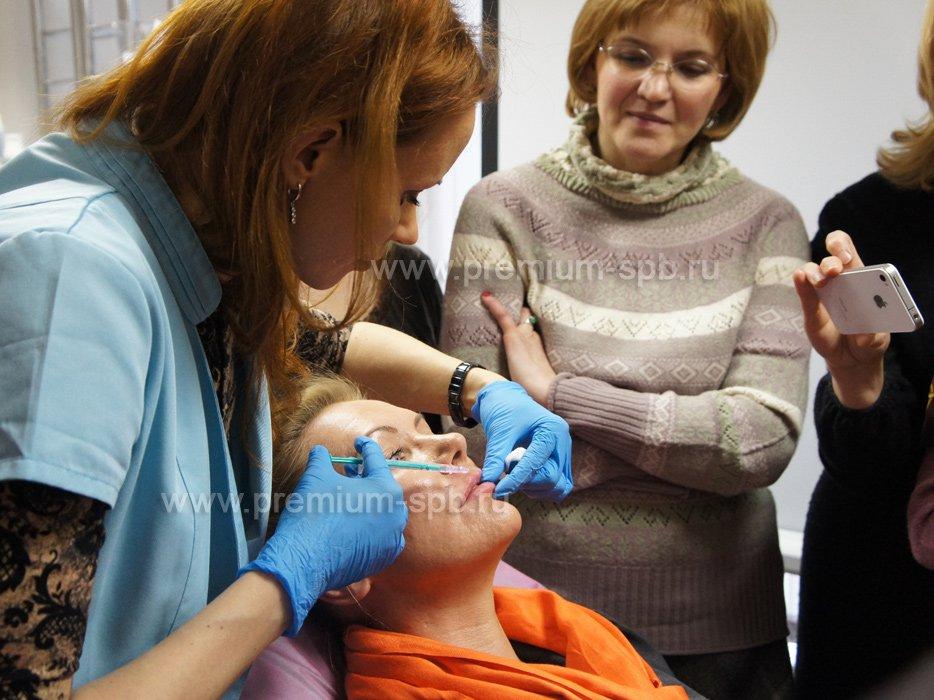 Компания «Premium» провела семинар посвященный использованию профессиональной косметики по изменению рельефа кожи
